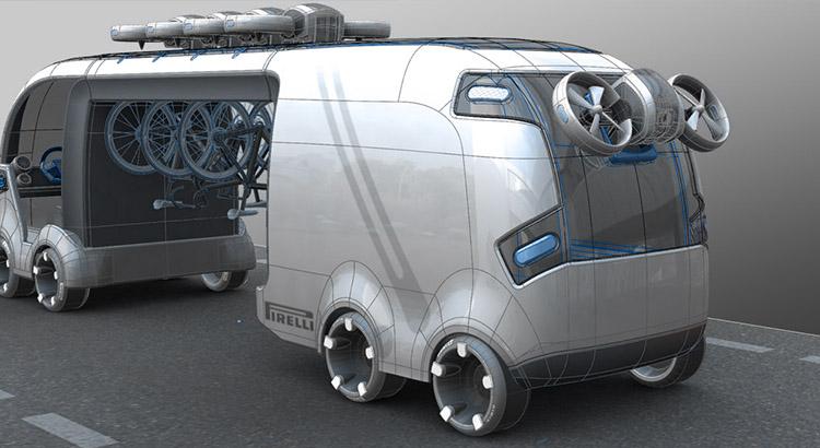 Industrial Design - Besenwagen Tour de France Class A - Florian Mack