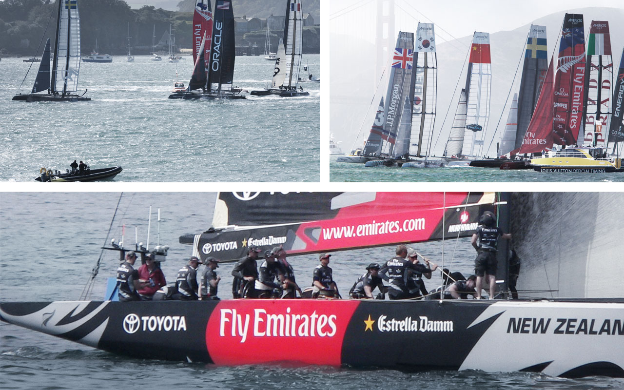 Industrial Design - Tender America's Cup mit Drone Konzept Research - Florian Mack