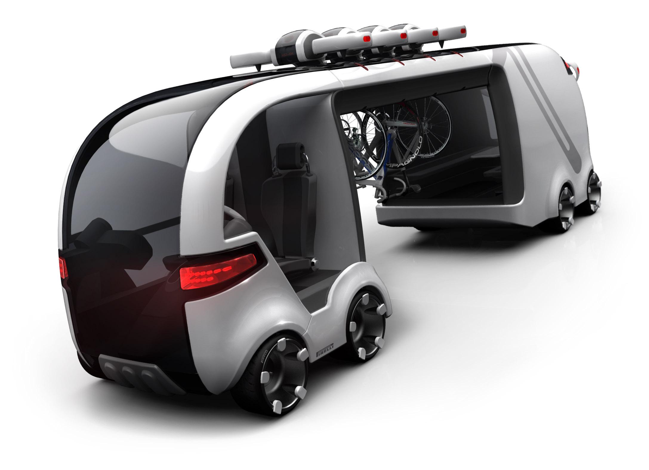 Industrial Design - Besenwagen Tour de France Designkonzept - Florian Mack