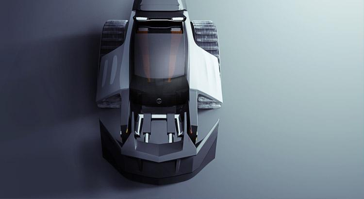 IZE Industrial Design - IZE Schneeräumfahrzeug Design Top- Florian Macktop