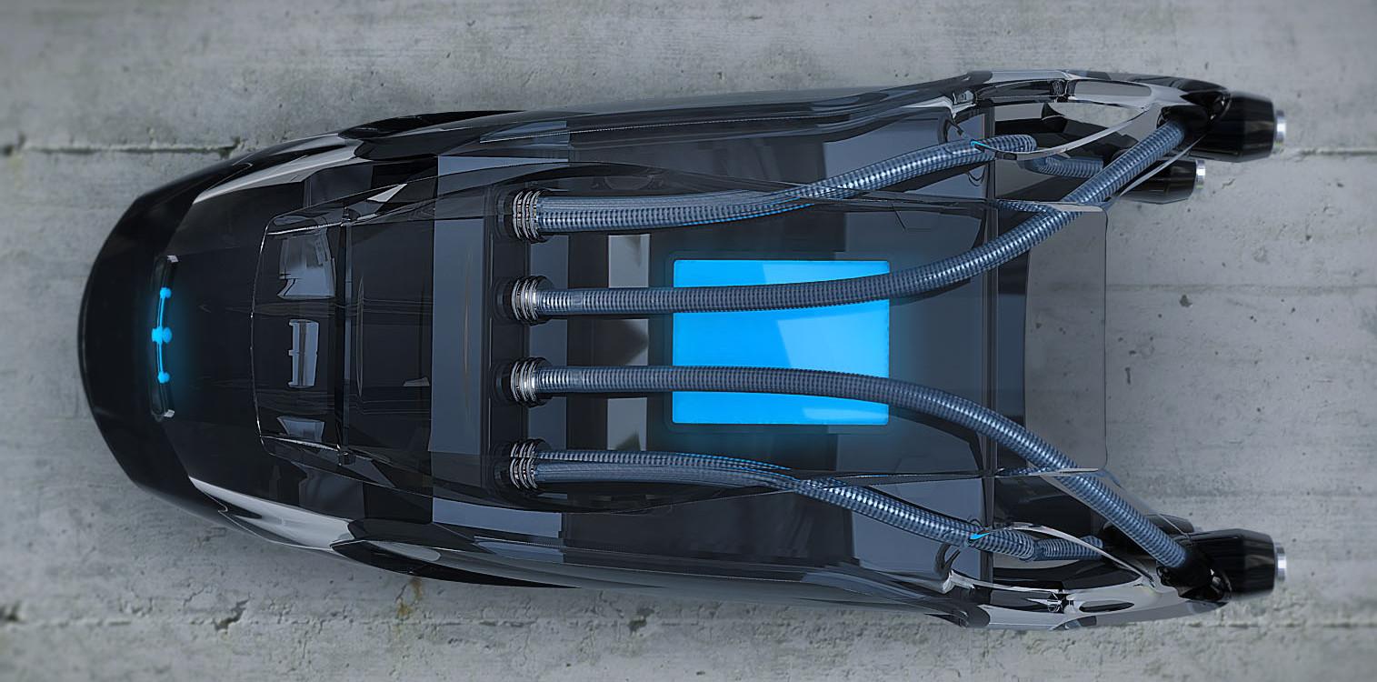 Industrial Design - Q.R.U. Wüstenrettung Roboterschlange Konzept - Florian Mack