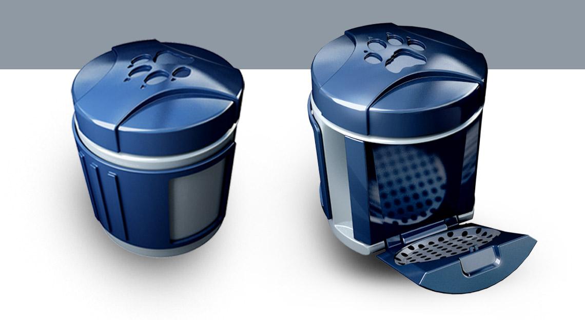 Industrial Design - Cup Outdoor Coffeemaker Kaffeemaschine Konzept - Florian Mack