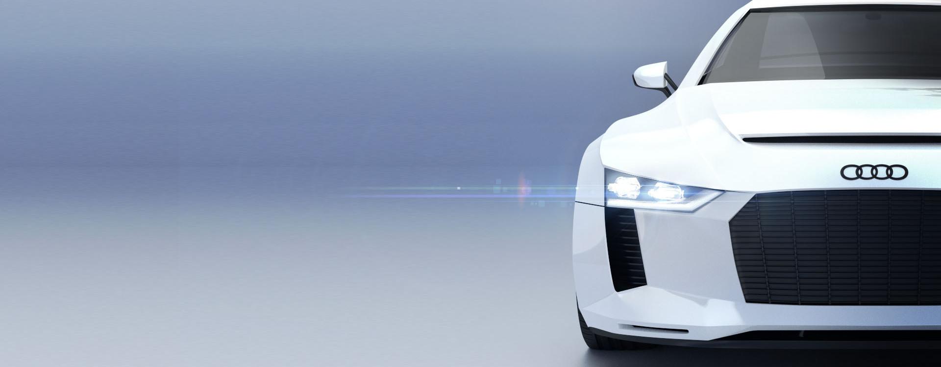 Blender for Industrial Designer - Florian Mack - Audi Quattro 3D Modell