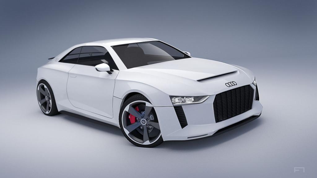 Blender for Industrial Designer - Audi Quattro 3D Modell