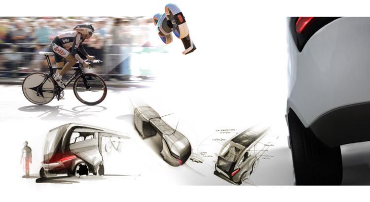 Industrial Design - Besenwagen Tour de France Interior Designplott - Florian Mack