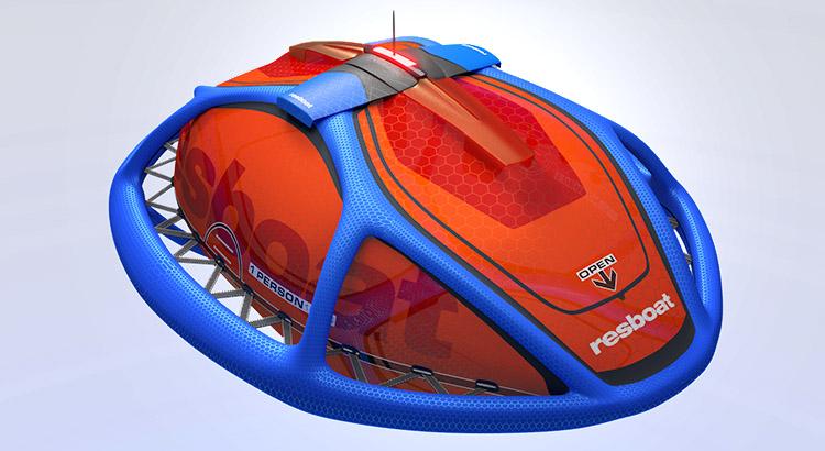 Industrial Design - Rescueboat Rettungsboot Design Konzept - Florian Mack